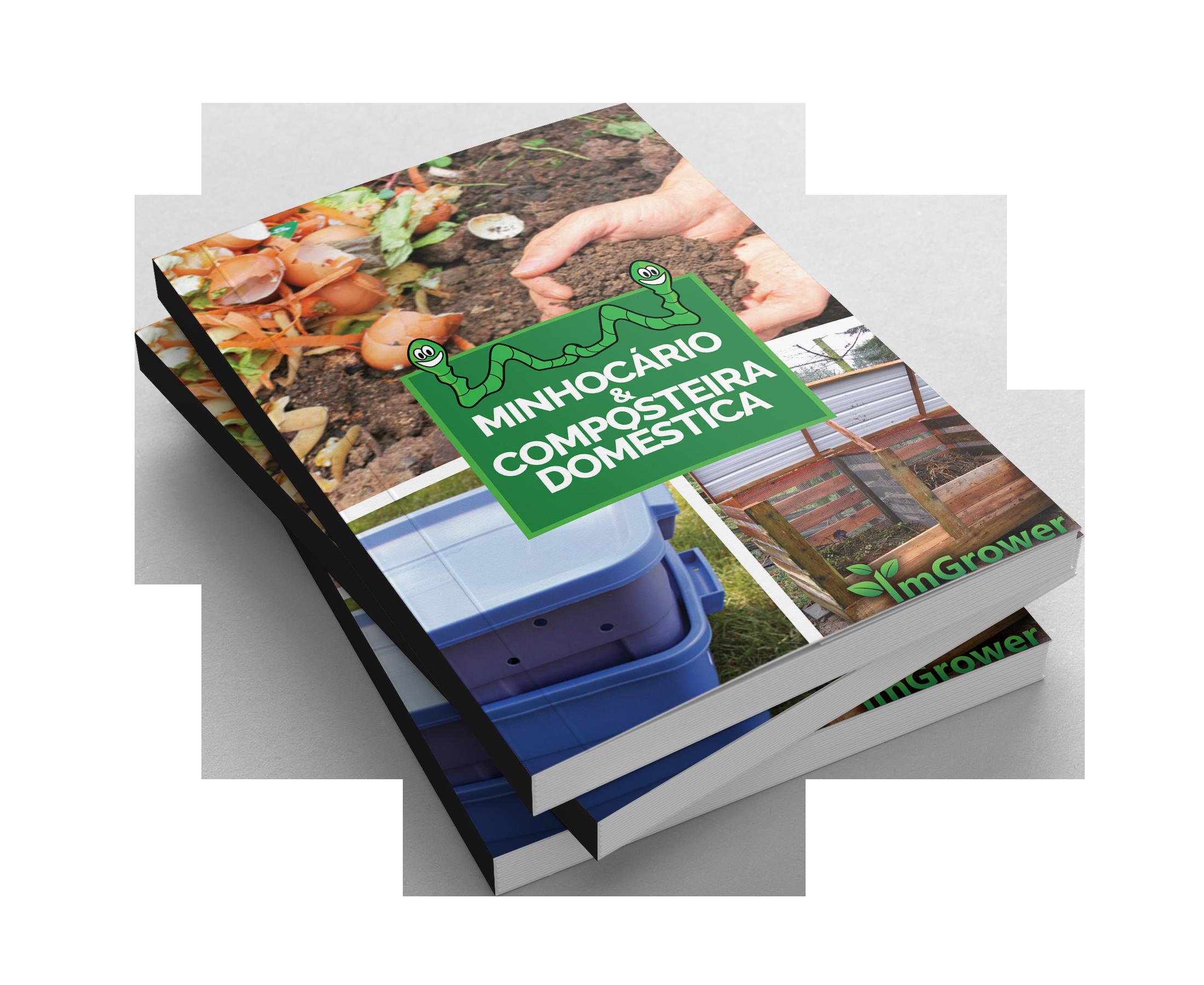 E-book composteira doméstica & minhocário da imgrower