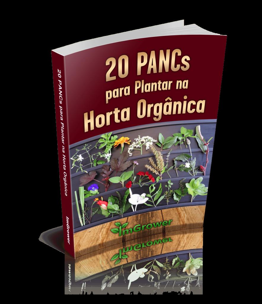 e-book 20 pancs para plantar na horta orgânica da imgrower