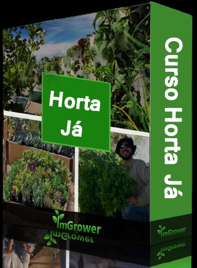 curso horta já : ebook controle de pragas, doenças e manejo de ervas daninhas da imgrower