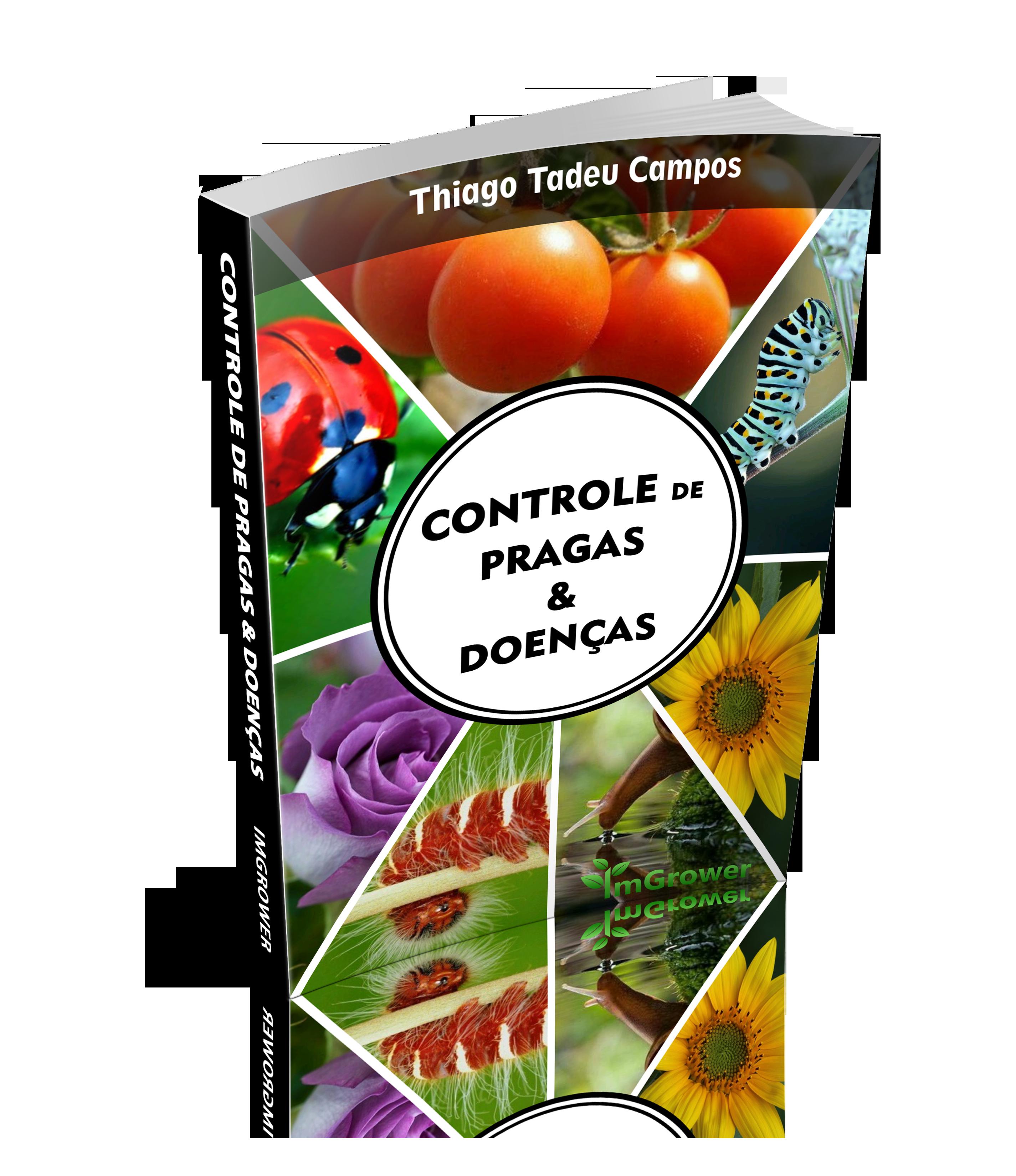 ebook controle de pragas, doenças e manejo de ervas daninhas da imgrower thiago campos
